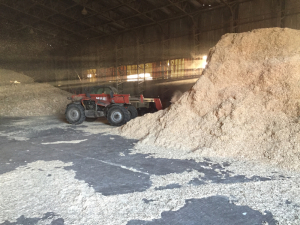 Biomass Chippings Store